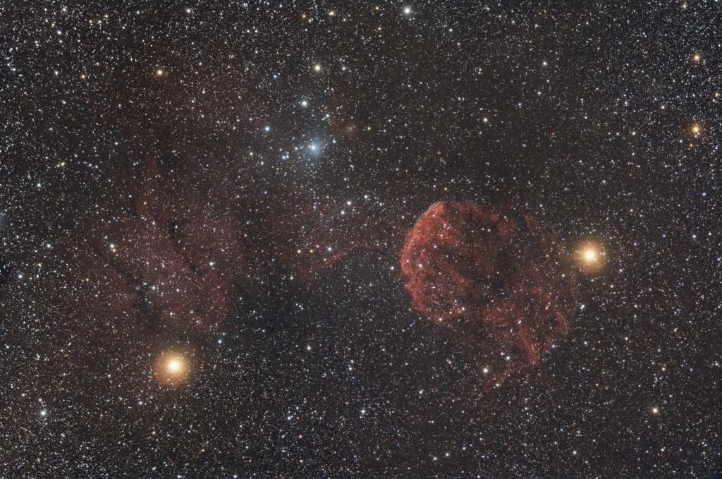 IC443, sky90, canon 60D