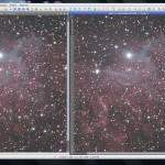 IC405 Deconvolution Comparison
